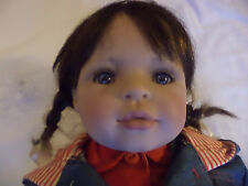 """BETTINE KLEMM 22""""  DOLL """"LAURA""""  BY GOTZ  RARE   MADE IN GERMANY"""