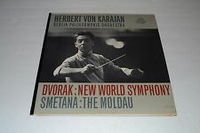 Herbert Von Karajan~Dvorak: New World Symphony~Smetana: The Moldau~FAST SHIPPING