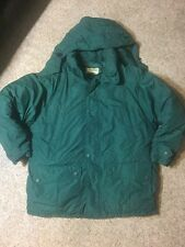 EDDIE BAUER Men's Snowline Goose Down Insulated Hooded Parka Jacket Coat Large