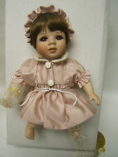 "The Prestige Collection Porcelain Doll ""Baby Tina"" Kingsgate Corp Seymour Mann"
