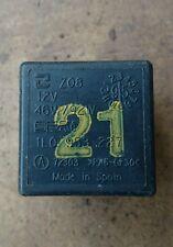 SEAT IBIZA MK2 2.0 MPI GTI # NUMBER 21 BLACK RELAY 1L0953227