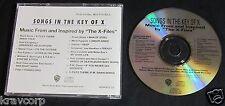 FOO FIGHTERS/DANZIG 'SONGS IN KEY OF X' 1996 PROMO CD—ROB ZOMBIE/ALICE COOPER