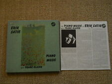Erik Satie Piano Music with Frank Glazer - 3 LP Box- Insert - washed /gewaschen