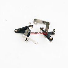 2 pcs throttle Bellcrank Linkage Swing Arms fit ZENOAH RCMK Engine for RC Boat