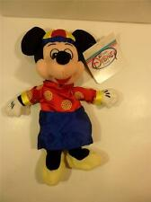 Hong Kong Disney The Store Mickey Mouse Ching's Style Suit Doll - RARE, NWT