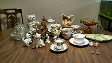Vintage Tea Cups and Figurines    Lot of Over 22 Items Wholesale Resale