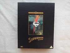 SUPERMAN THE MOVIE Christopher Reeves DELUXE Edition DVD Box Set COMPLETE R2 NEW