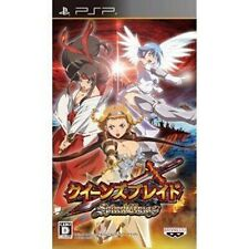 Used PSP Queen's Blade: Spiral Chaos  Japan Import ((Free shipping))