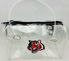 Cincinnati Bengals Clear Bowler Purse NFL Stadium Compliant