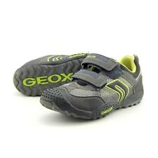 Geox Marlon Youth US 2 Gray Running Shoe Pre Owned  1059