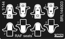 Brengun Models 1/144 BRITISH AIRCRAFT SEATS Photo Etch Set