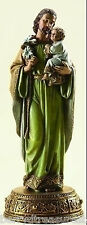 "10.25"" ST. JOSEPH HEAVENLY PROTECTOR FIGURE with Baby Jesus Josephs Studio 62812"
