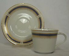 NORITAKE china BLUE DAWN 6611 pattern Set of Two Cups & Two Saucers