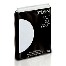 500g DYLON SALT FOR USE WITH HAND & MACHINE FABRIC CLOTHES DYES - DYE FIXING
