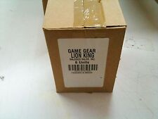 BRAND NEW MASTER CASE OF 6 The Lion King Sega Game Gear Disney  Wholesale LOT