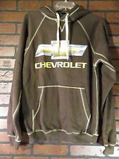 CHEVROLET Bowtie Chevy Automobile Hoodie Jacket Mens Size S