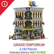 Custom Grand Emporium 10211 - NEW Compatible with all LEGO Blocks