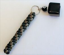 Billard Pool Cue Chalk Holder Made Of Paracord, OD Green & Tan 499 In Color