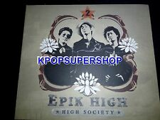 Epik High Vol. 2 High Society CD Great Cond. K-POP KPOP Tablo Penny OOP