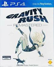 Gravity Rush Remastered PS4 Game Chinese/English subtitle Version REGION FREE