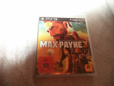 Max Payne 3 ps3 (PlayStation 3) Sony