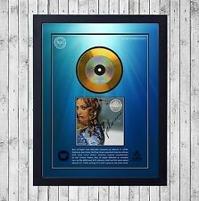 MADONNA RAY OF LIGHT CUADRO CON GOLD O PLATINUM CD EDICION LIMITADA. FRAMED