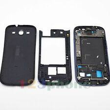 BEZEL FRAME + CHASSIS + BACK COVER FULL HOUSING FOR SAMSUNG GALAXY S3 i9300