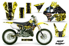 Suzuki RM 250 Graphics Kit AMR Racing Bike Decal RM250 Sticker Part 96-98 MADHAT