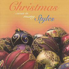FREE US SH (int'l sh=$0-$3) NEW CD Christmas Comes in Many Styles: Christmas Com