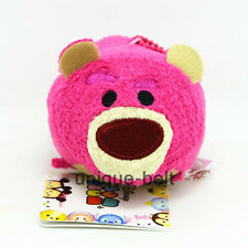 "3.5"" New Lotso Lots-O-Huggin Bear Toy story 3 Tsum plush Toy Doll Screen Wipe"