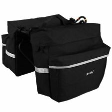 BV Bicycle Panniers with Adjustable Hooks and Carrying Handle New