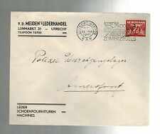 1941 Utrecht Holland Cover to Commandant Amersfoort Concentration Camp KZ