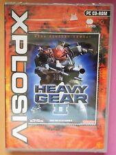 HEAVY GEAR 2 II PC CD-ROM SHOOTER GAME brand new & sealed UK RARE !!