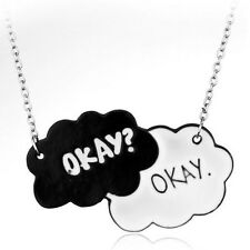 The Fault In Our Stars Okay? Okay. Tumblr Necklace