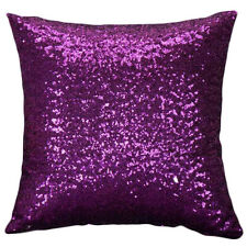 U Mermaid Pillow Sequin Cover Glitter Sofa Waist Throw Cushion Case Home Decor