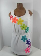 Vtg 60's De Weese PsYcHeDeLiC HiPPiE hAwAiiAn swimsuit swim suit dress with wrap