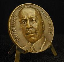 Médaille Homme politique français Paris Fortuné d'Andigné Marquis 1920  Medal 勋章