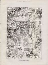 1881 HOT WEATHER SKETCHES