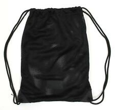 Alexander Wang for H&M Black Nylon Mesh Drawstring Athletic Bag
