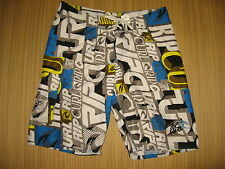 #7118 TIME TO SURF! RIP CURL RIPCURL BOARD SHORTS MEN'S 36 GOOD USED