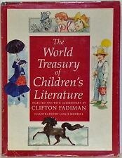 THE WORLD TREASURY OF CHILDREN'S LITERATURE - V.3 - WITH DUST JACKET - CLIFTON F