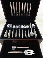 JADE BY CONTEMPRA HOUSE TOWLE STERLING SILVER FLATWARE SET 42 PIECES MODERNISM