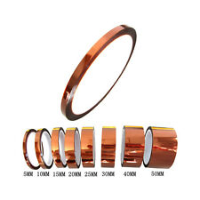 5mm 0.5cm x 30M Kapton Tape High Temperature Heat Resistant Polyimide sx