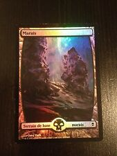 MTG MAGIC ZENDIKAR SWAMP FOIL (239) FRENCH MARAIS