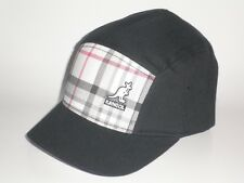 NEW Kangol RIO HONDO STINGY Hat Black Red S/M ($37) Cap Flex Five Panel PLAID