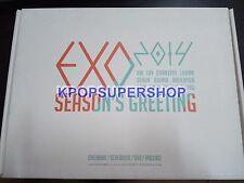 Exo Exo-K Exo M Calendar DVD 2014 Seasons Greetings Official Merchandise Great