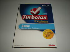 Turbotax 2011 Basic. Federal version with Federal E-File. No state. Sealed.