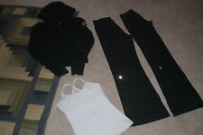 Lot of 2 Lululemon Pants, Cuddle Up Pullover Hoodie and Tank  sz 2
