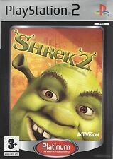 SHREK 2 for Playstation 2 PS2 - with box & manual
