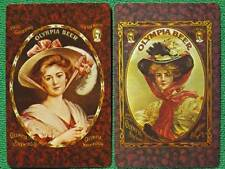 Pinup Girls for Olympia Beer Advertisements 1970's Swap Cards of Vintage Art WOW